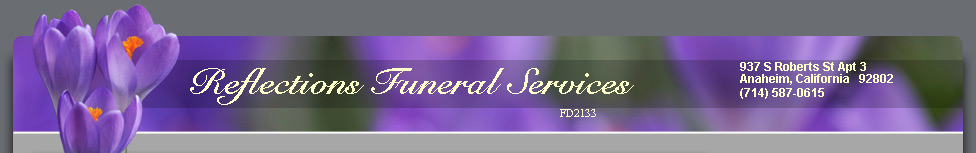 Reflections Funeral Services